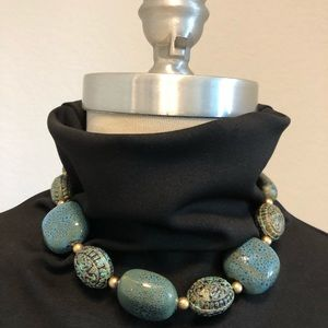 Jewelry - Ceramic Beaded Necklace